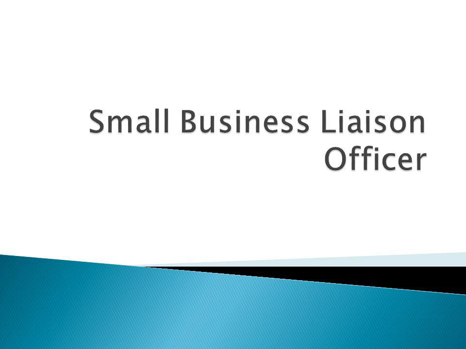 Small Business Liaison Officer