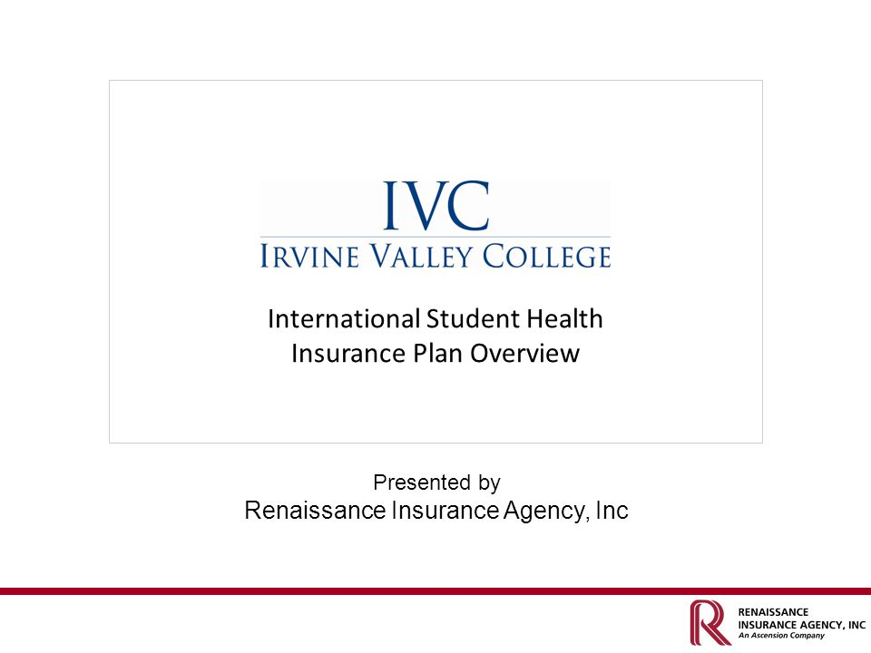 International Student Health Insurance Plan Overview