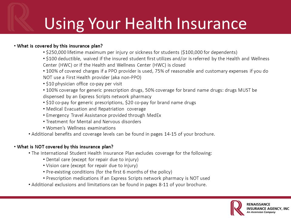 Using Your Health Insurance