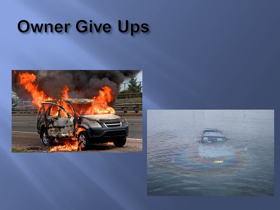 Owner Give Ups