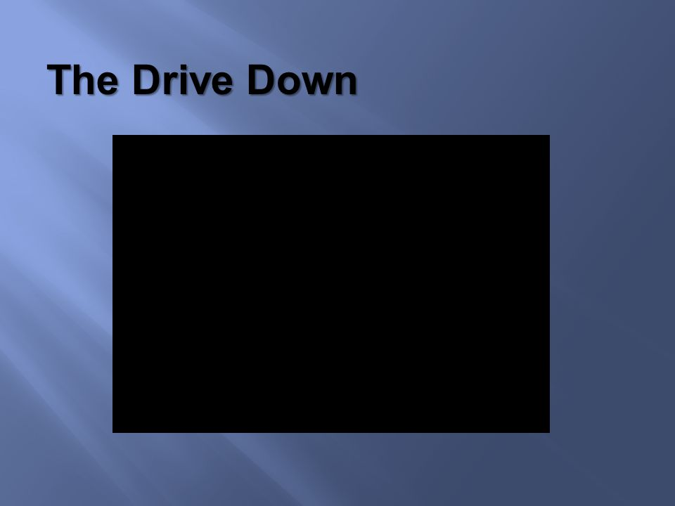 The Drive Down