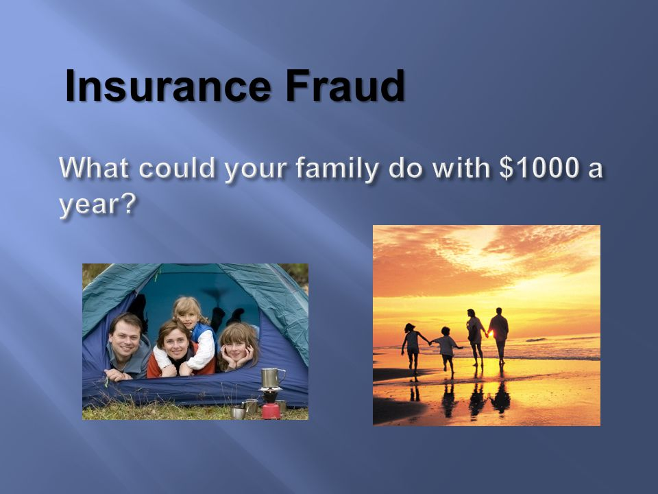 What could your family do with $1000 a year