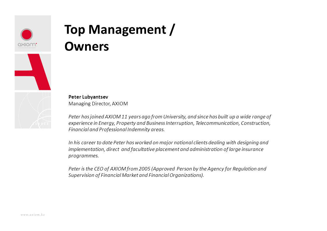 Top Management / Owners