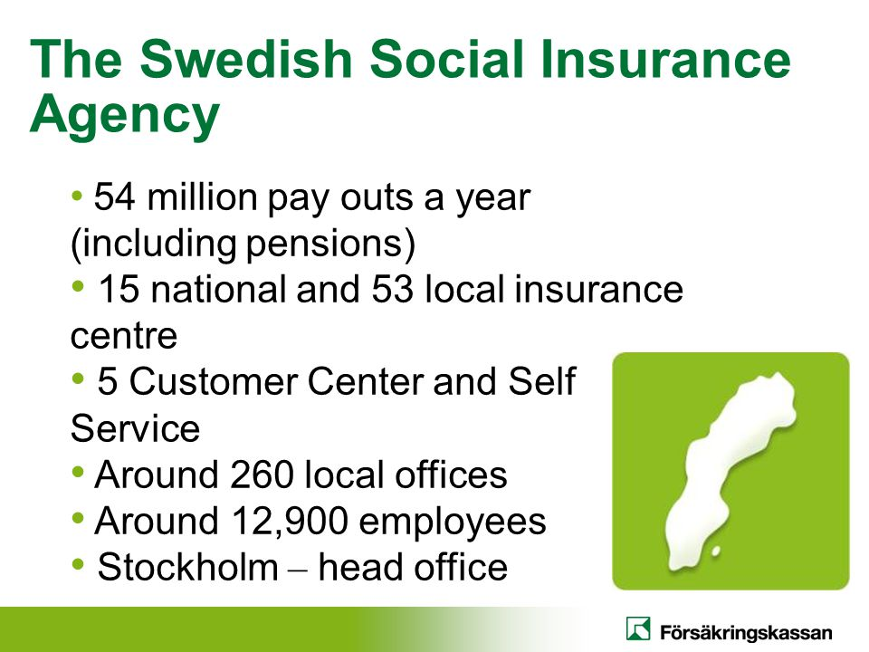 The Swedish Social Insurance Agency