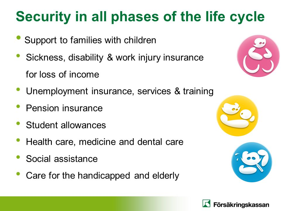 Security in all phases of the life cycle