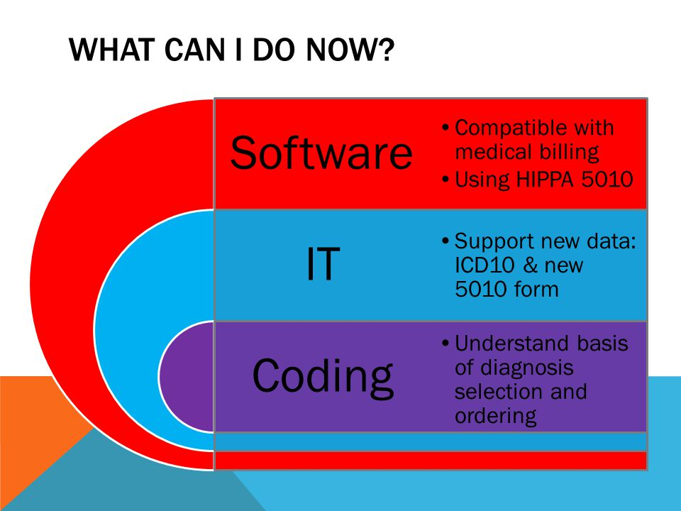 Software IT Coding What CAN I DO NOW Compatible with medical billing
