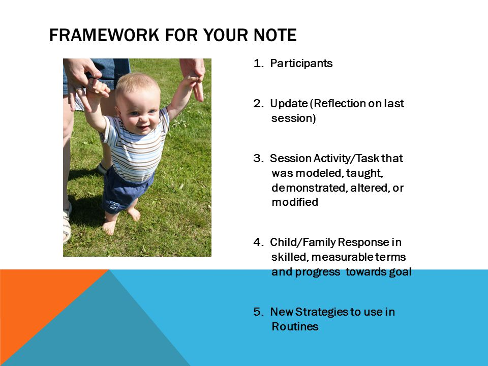 Framework for your note