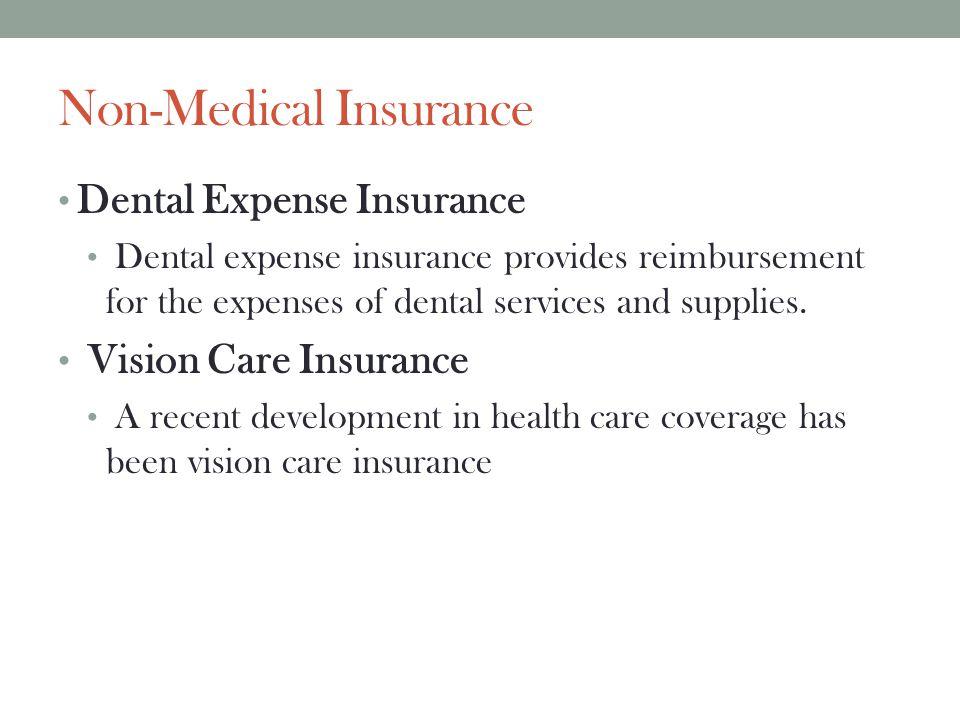 Non-Medical Insurance