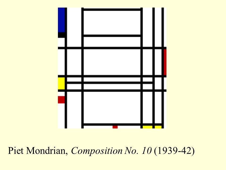 Piet Mondrian, Composition No. 10 (1939-42)