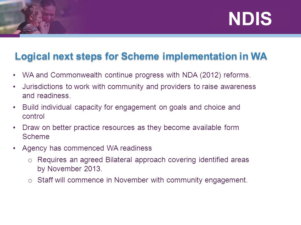 Logical next steps for Scheme implementation in WA