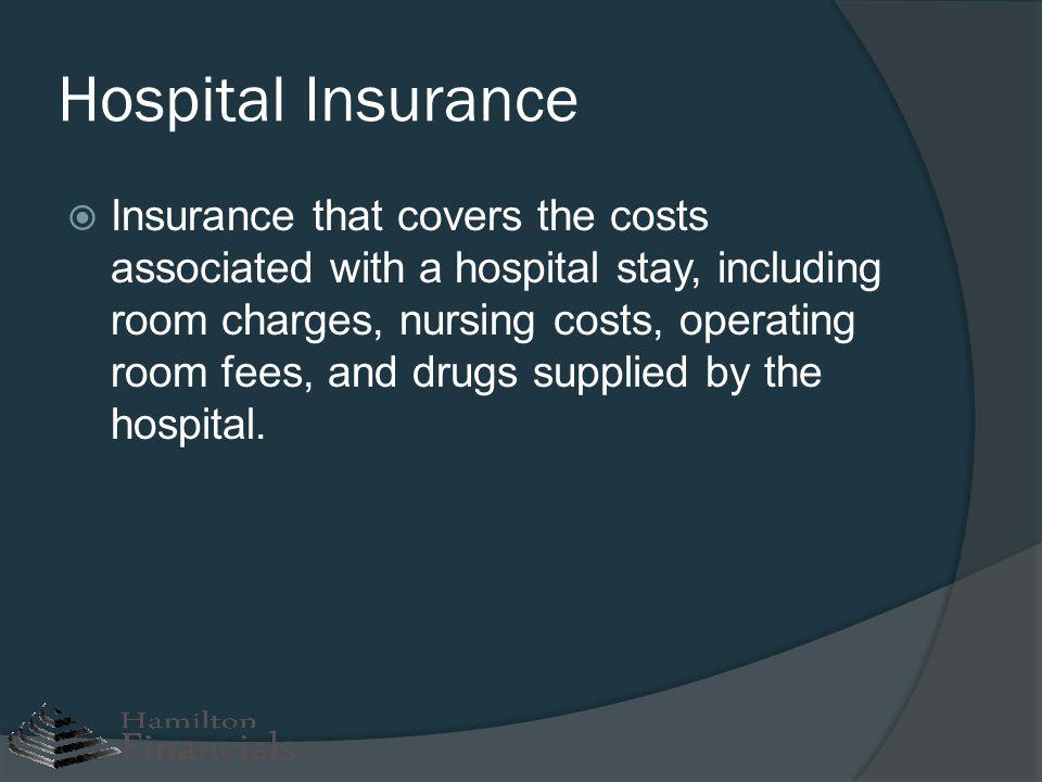 Hospital Insurance