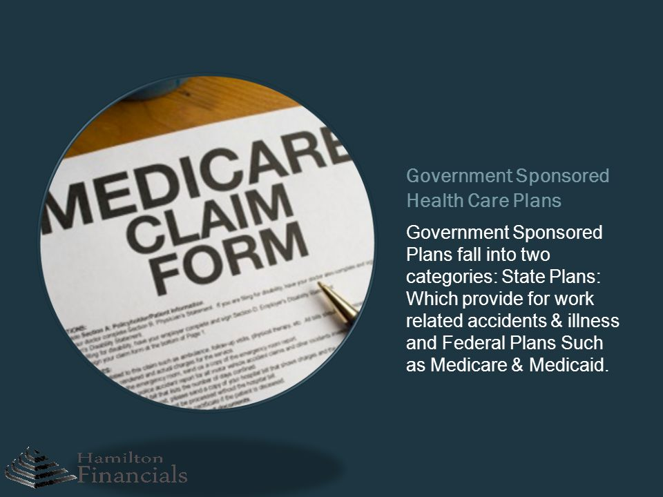 Government Sponsored Health Care Plans
