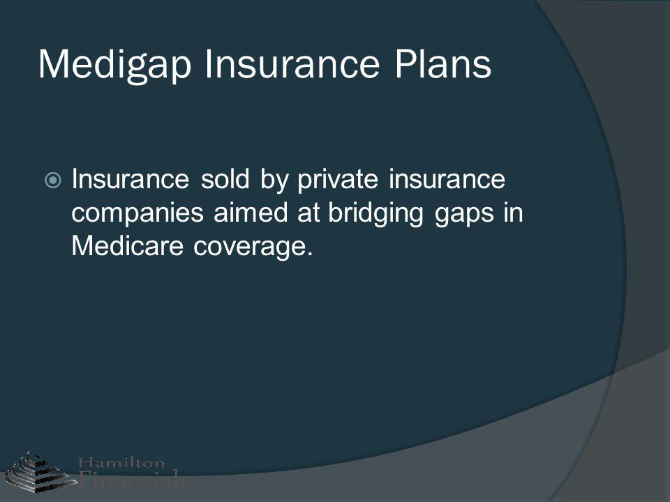Medigap Insurance Plans