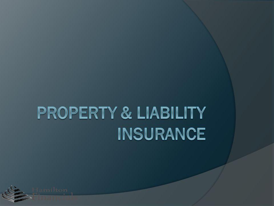 Property & Liability Insurance