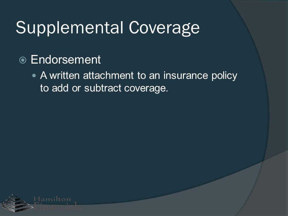 Supplemental Coverage