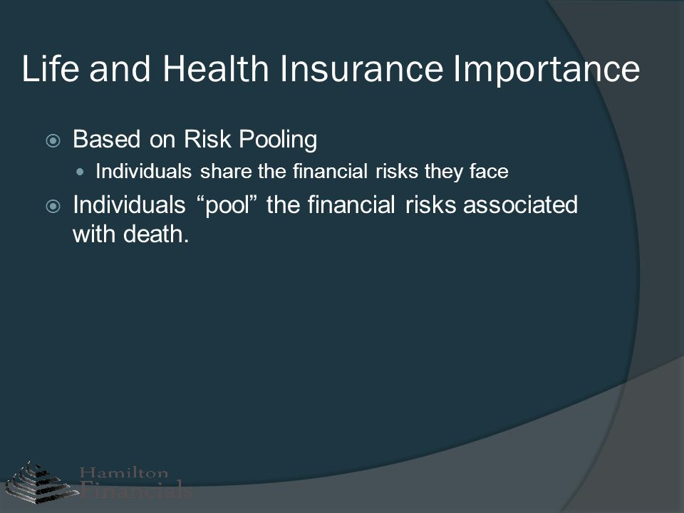 Life and Health Insurance Importance