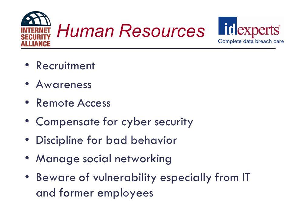 Human Resources Recruitment Awareness Remote Access