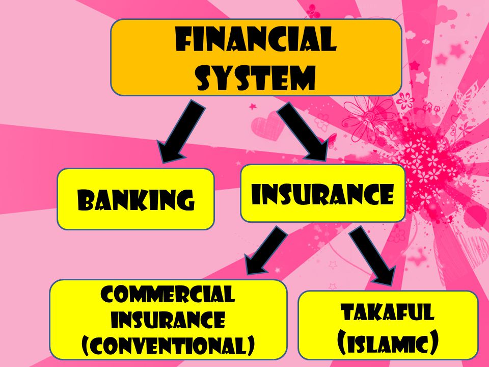 Financial system Insurance Banking (Islamic) Commercial Insurance