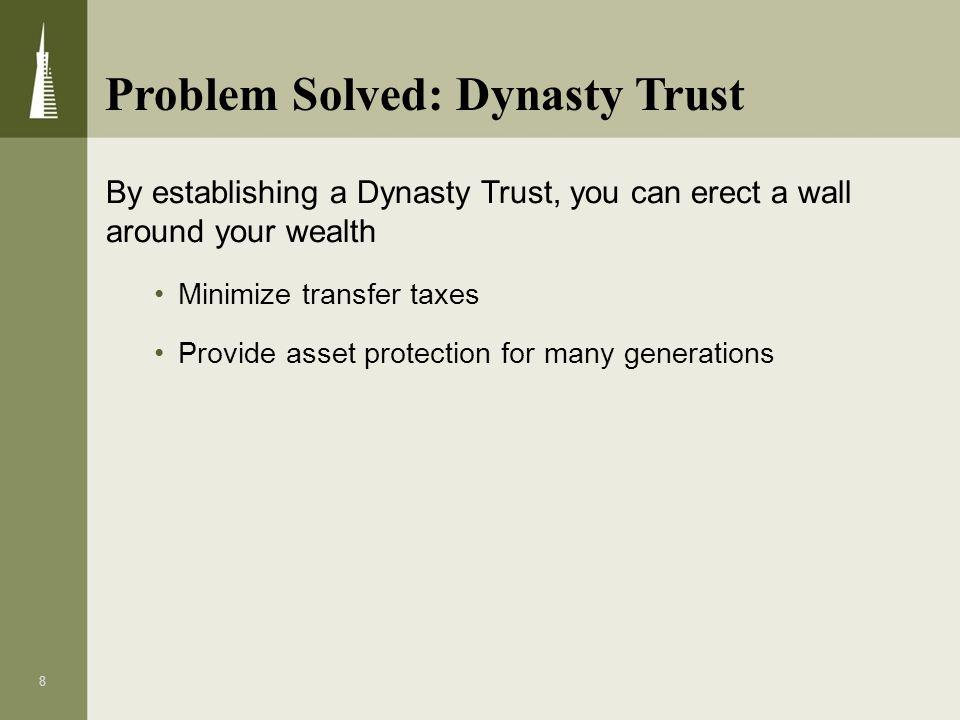 Problem Solved: Dynasty Trust
