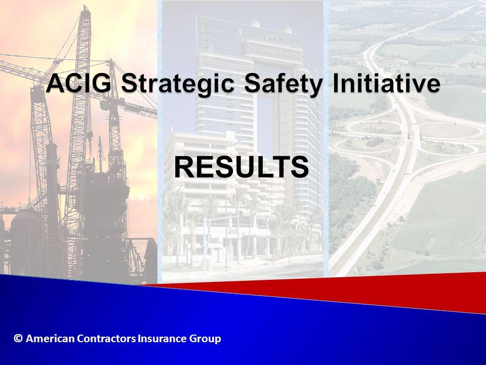 ACIG Strategic Safety Initiative