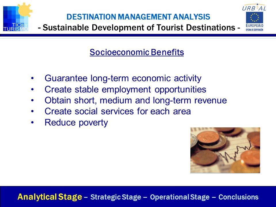 Socioeconomic Benefits