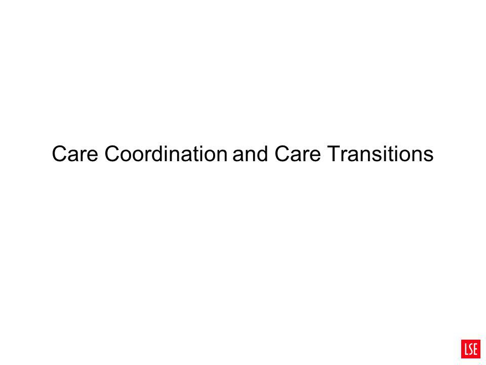 Care Coordination and Care Transitions