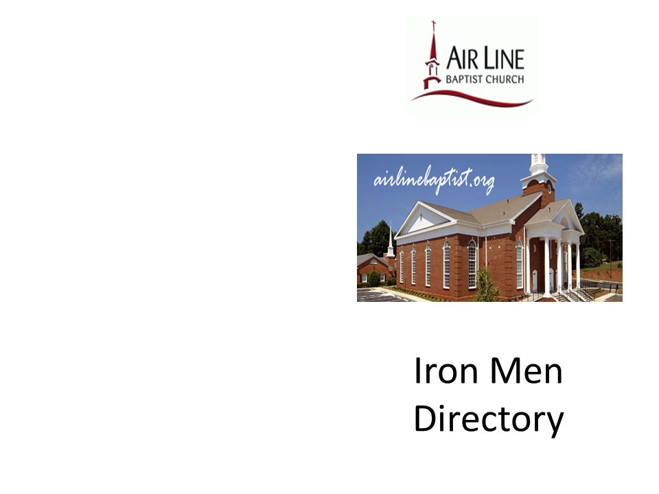 Iron Men Directory