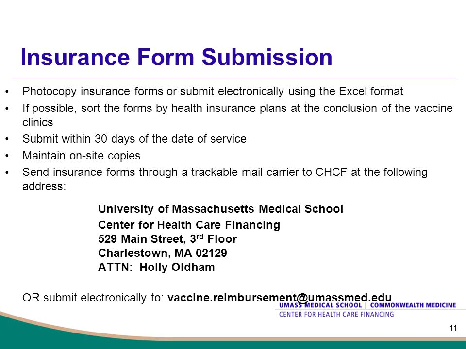 Insurance Form Submission