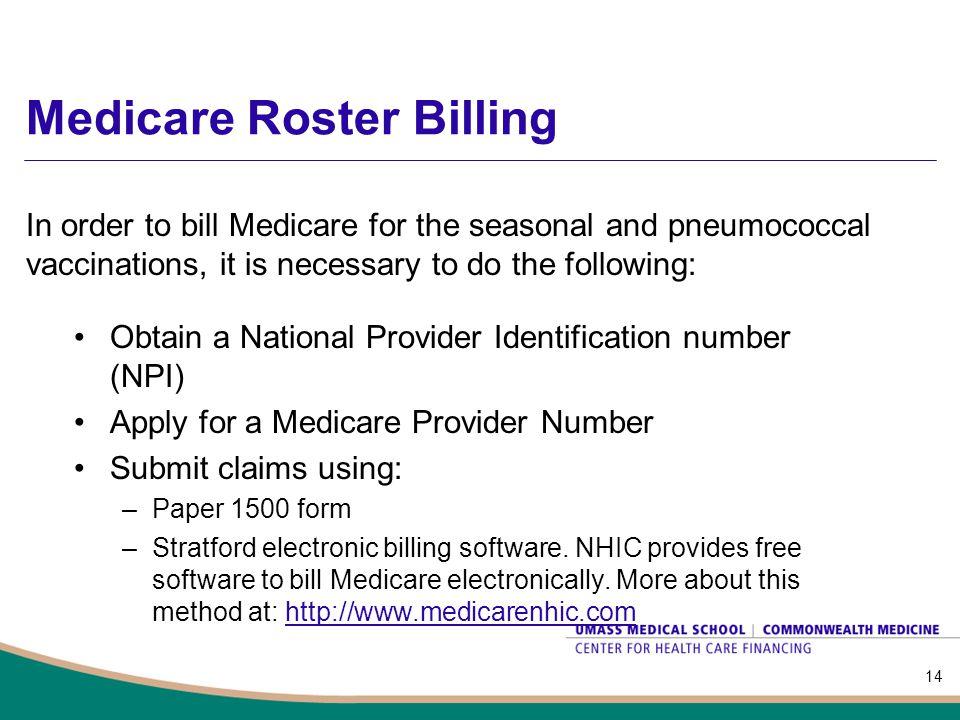 Medicare Roster Billing