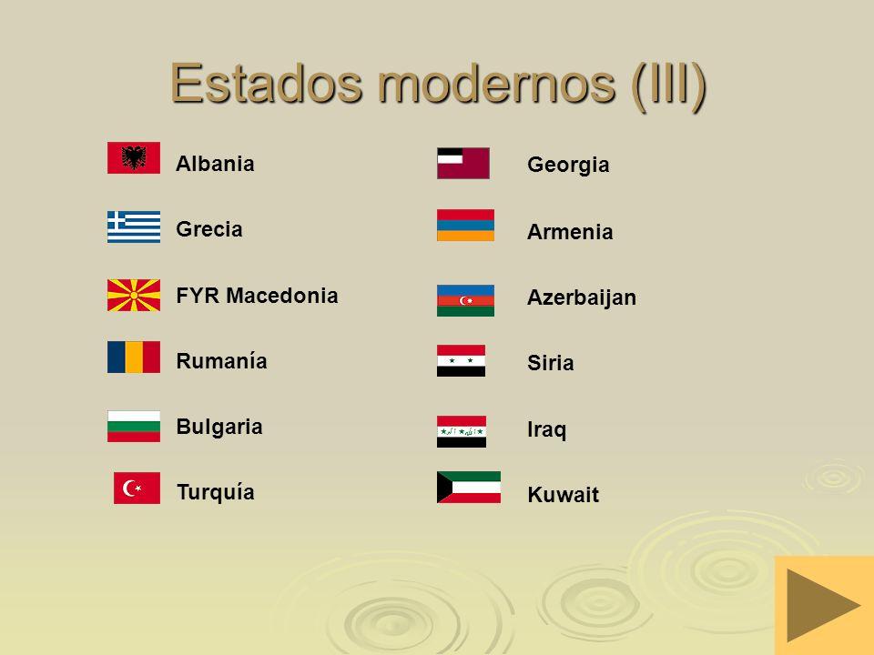 Estados modernos (III)