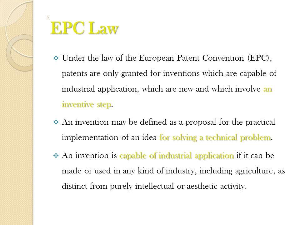 EPC Law