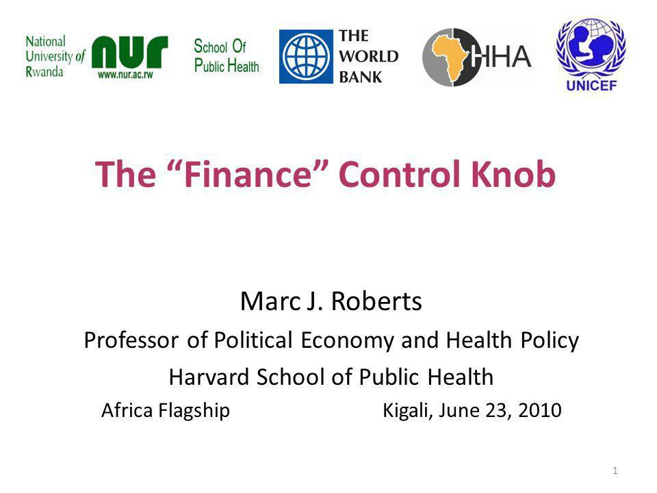 The Finance Control Knob