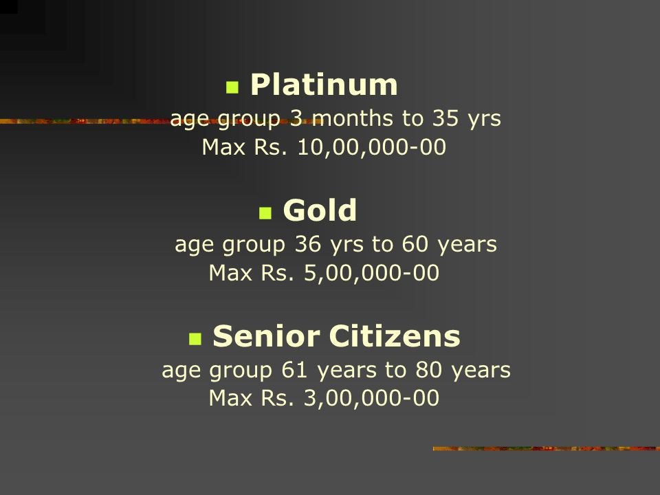 age group 61 years to 80 years