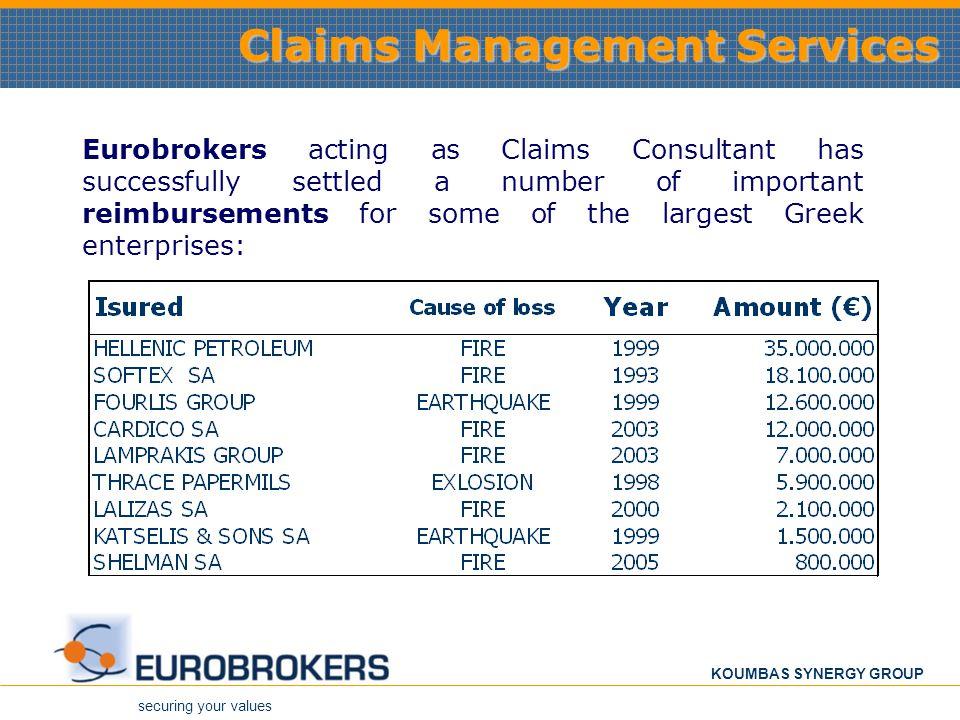 Claims Management Services