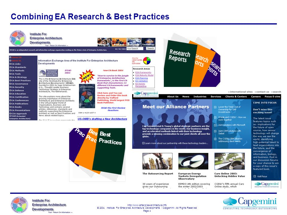 Combining EA Research & Best Practices