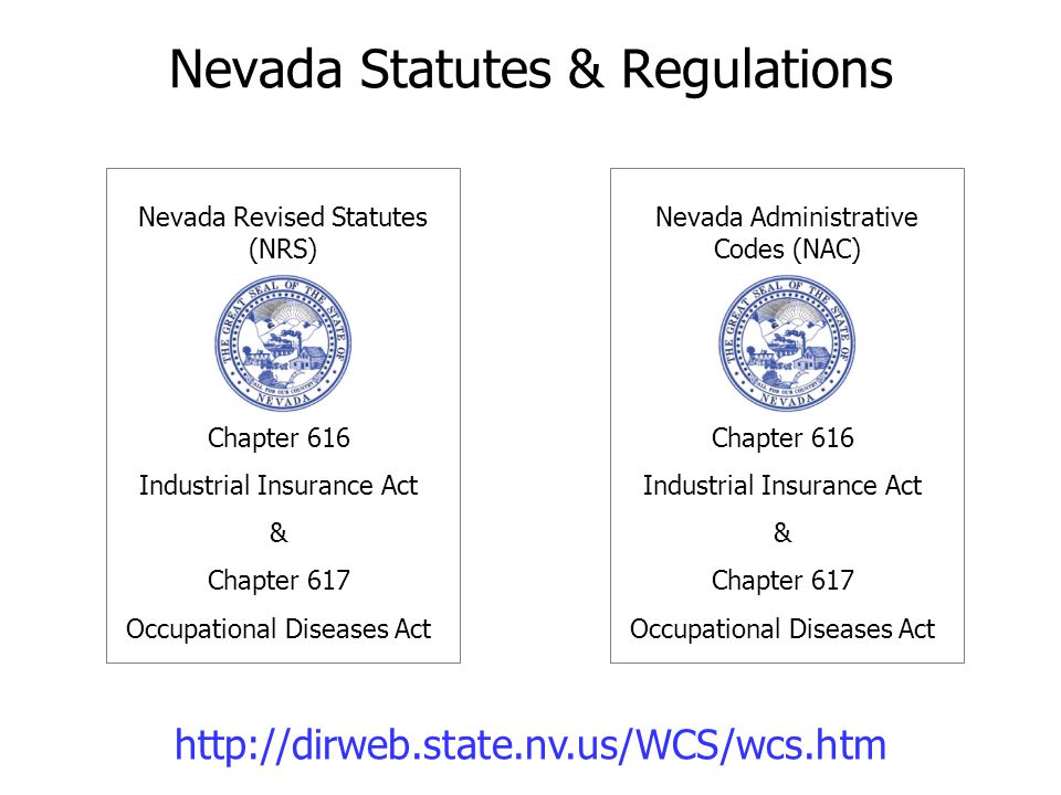 Nevada Statutes & Regulations
