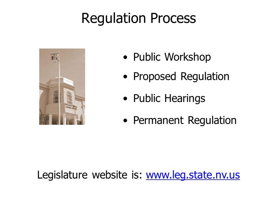 Legislature website is: www.leg.state.nv.us