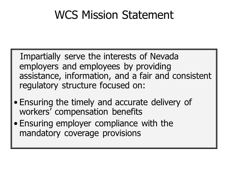 WCS Mission Statement