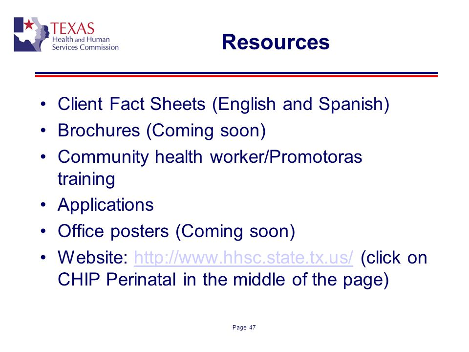 Resources Client Fact Sheets (English and Spanish)