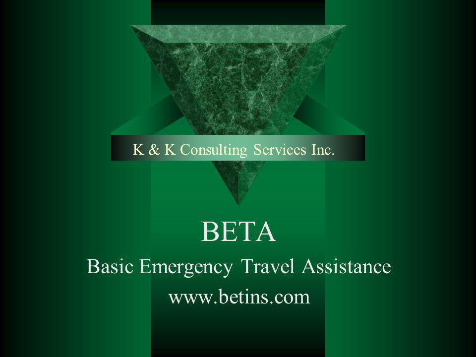 K & K Consulting Services Inc.