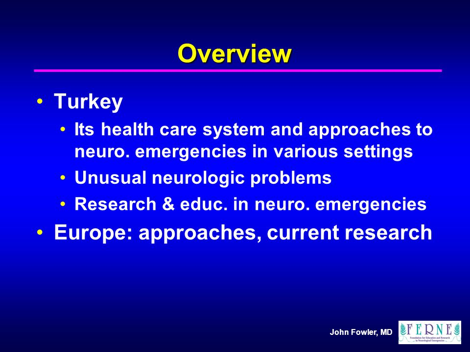 Overview Turkey Europe: approaches, current research