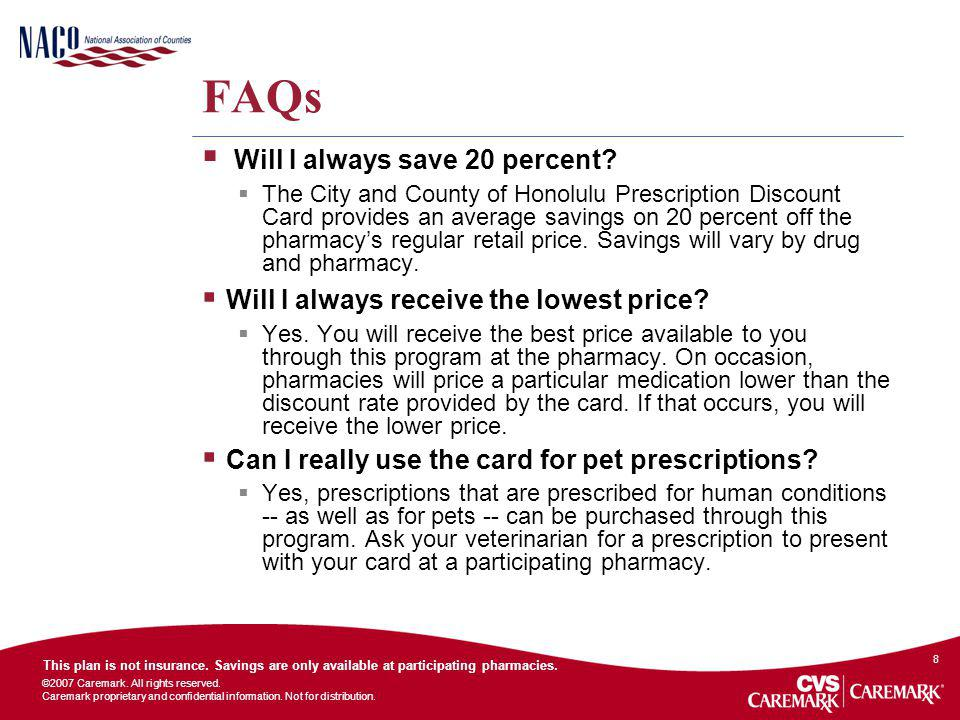 FAQs Will I always save 20 percent