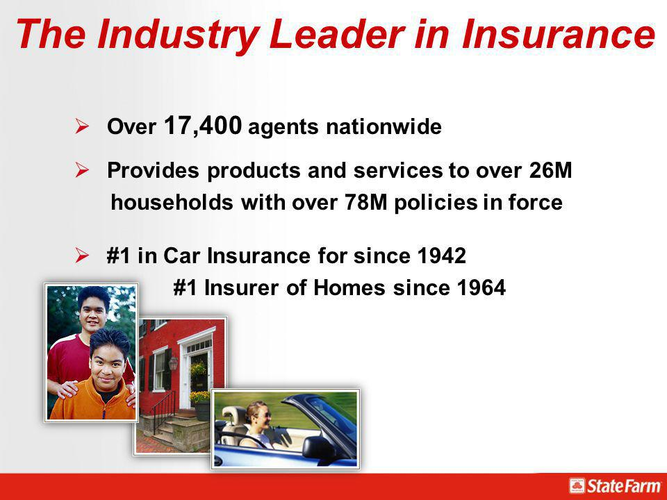 The Industry Leader in Insurance