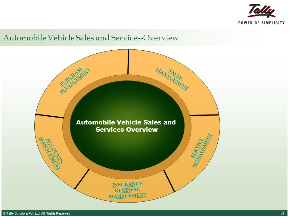 Automobile Vehicle Sales and Services-Overview