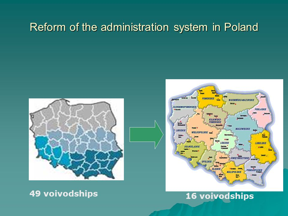 Reform of the administration system in Poland