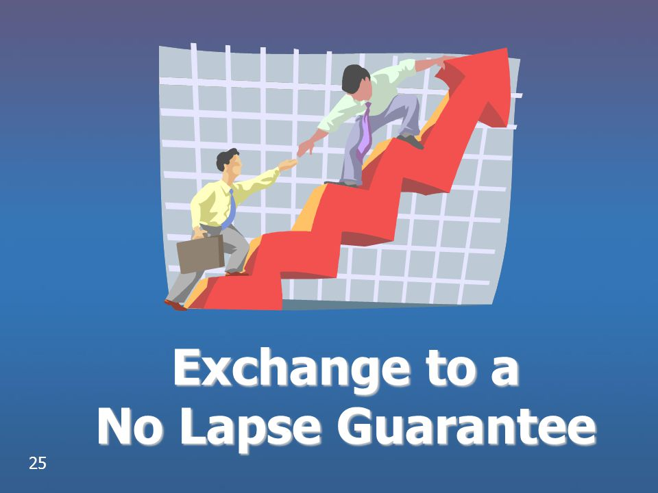 Exchange to a No Lapse Guarantee