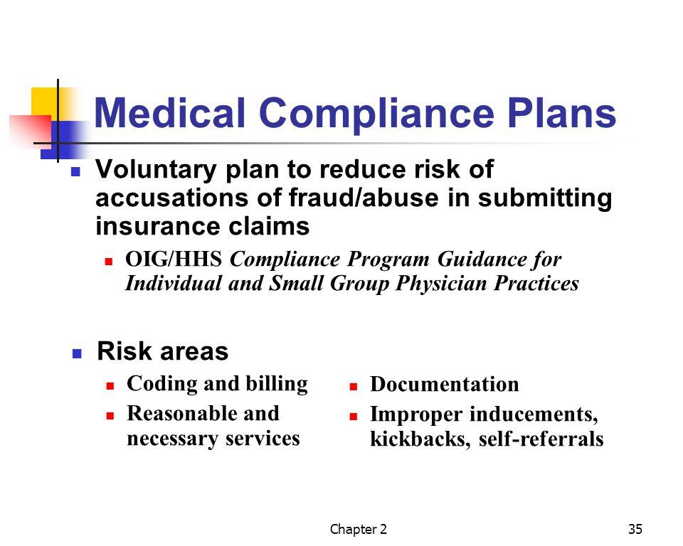 Medical Compliance Plans