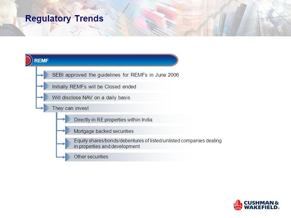 Regulatory Trends REMF