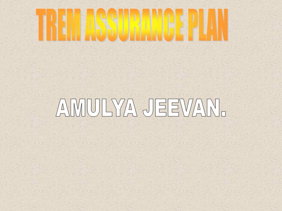 TREM ASSURANCE PLAN AMULYA JEEVAN.