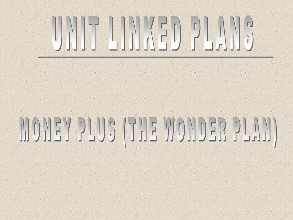 MONEY PLUS (THE WONDER PLAN)